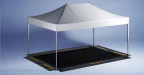 Zeltdach und Zeltboden