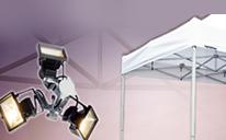 Beleuchtungssystem und Zeltdach