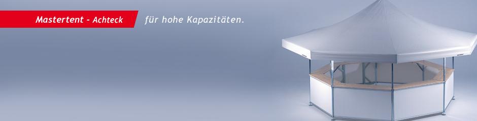 Faltpavillon Achteck Mastertentr